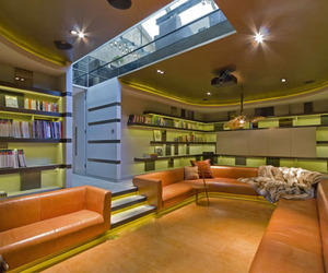Modern Home Library Inspiration