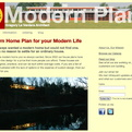 Modern House Plans site redesign