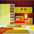 Modern Kids Room from Italian Company