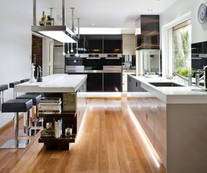 Modern Kitchen Designed by Darren James