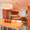 Modern Kitchen + Dining Room by BUILD LLC