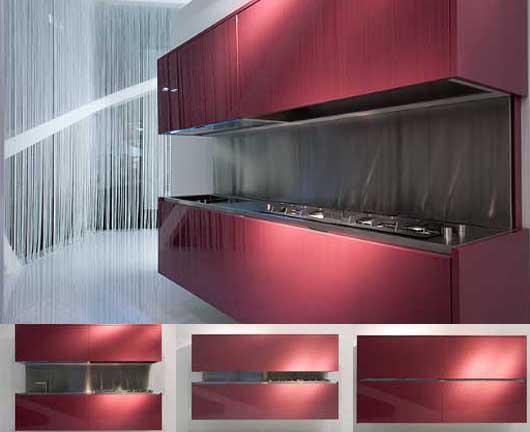 Modern kitchen set design called moove for Design kitchen set modern
