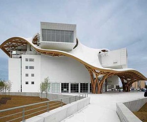 Modern Museum of Centre Pompidou-Metz