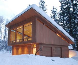 Modern North Cascades Cabin by FINNE Architects