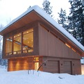 Modern North Cascades Cabin by FINNE Architects