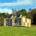 Modern off-grid holiday cabin in Scotland