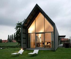 Modern Old Farmhouse in Belgium from Buro2