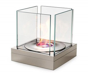 Modern Outdoor Fireplace from EcoSmart Fire