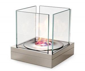 Modern Outdoor Fireplace from EcoSmart Fire