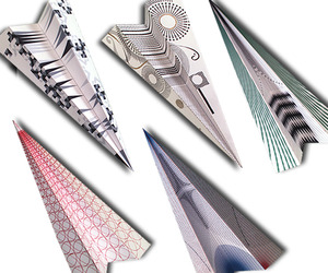 Modern Paper Planes For Wallpaper* Magazine