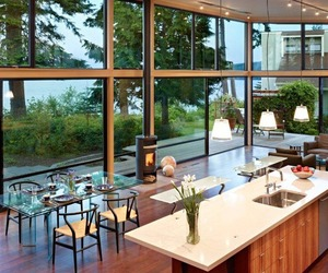 Modern Port Ludlow Residence by FINNE Architects