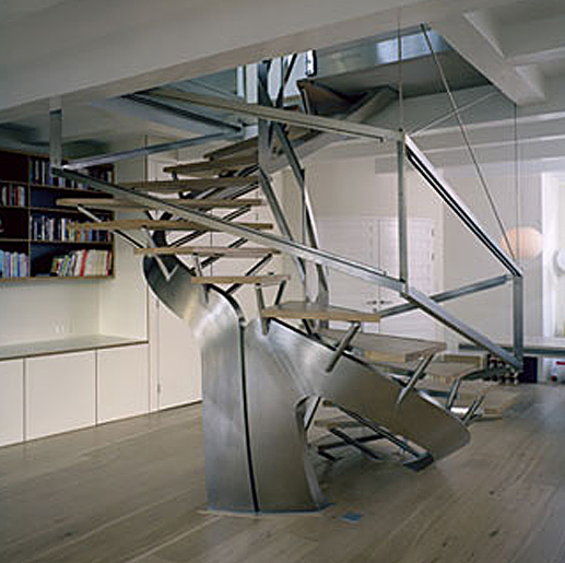 modern residence with amazing staircase rh materialicious com