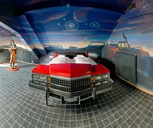 Modern Room Design for Automotive Enthusiasts