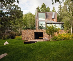 Modern rustic dwelling in Aspen | Opeenheim Architects