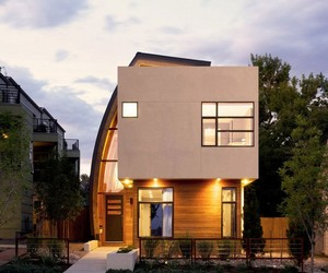 Modern Shield House in Denver, Colorado