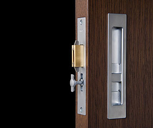 Modern Sliding Door Privacy Lock