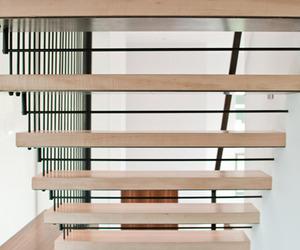 Modern Stair Design by BUILD LLC