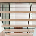 Modern Stair Design by BUILD LLC