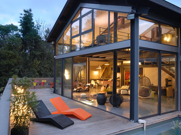 Scintillating Steel And Glass House Plans Gallery - Best idea home ...