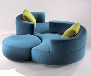Modern Sublime Seating Group by Rick Lee