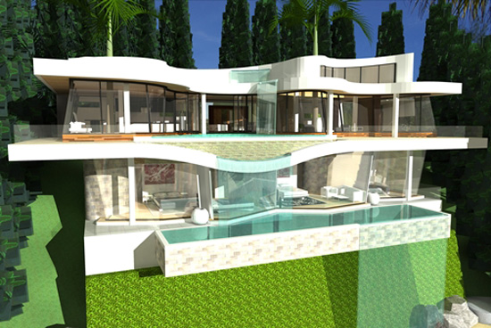 Modern Sustainable Water Villa by Modern Zen Architects ...