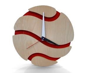 Modern Wall Clocks by Clockeee