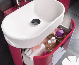 Modern Washbashin Bathroom in Bilbao series from Regia
