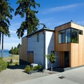 Modern Waterfront Home on Bainbridge Island
