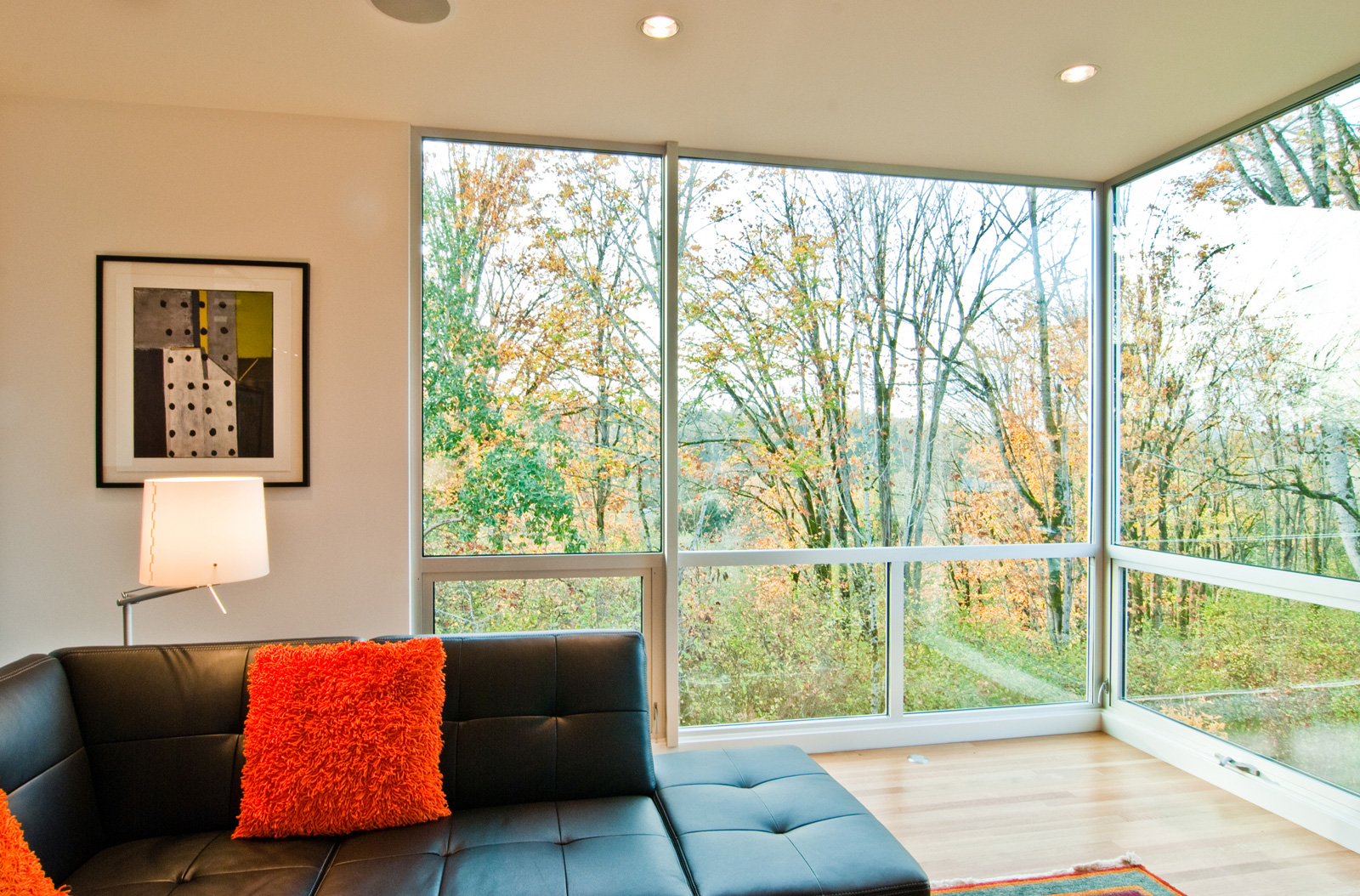 Modern windows by build llc for Modern window house