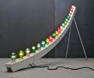 Modern50 Himalaya Floor Lamp, Steampunk Vintage Carnival