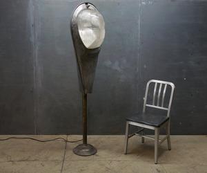 Modern50 Super Guppy Vintage Industrial Steampunk Floor Lamp