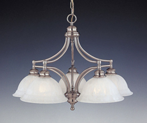 Moderne 5 Light chandelier