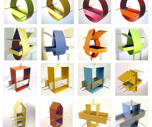 Modernist & Cubist Birdhouses & Feeders