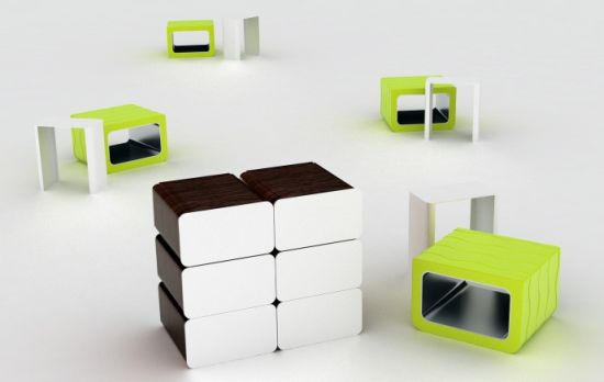 Modular Cube Furniture