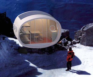 Modular Prefab Pods designed for High Altitudes