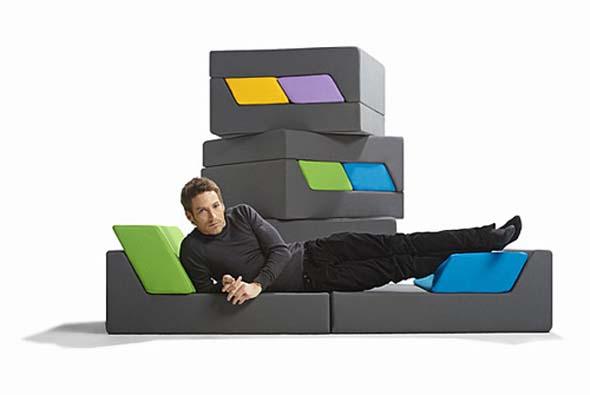 modular sofas by ora ito. Black Bedroom Furniture Sets. Home Design Ideas
