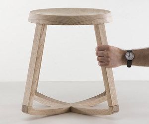 Monarchy Stool by Yiannis Ghikas