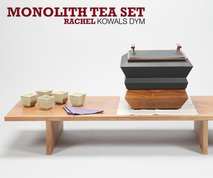 Monolith tea set by Rachel Kowals Dym