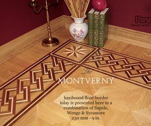 Montverny Hardwood Floor Border Pattern Inlay