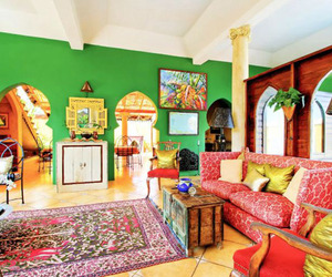 Moorish Style Azzurra Castle on the Island of Grenada