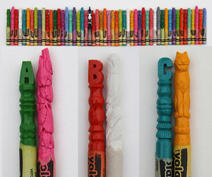 More Cool Carved Crayons by Diem Chau