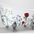 Mosaic Bathtub by Solklippa & Skogh