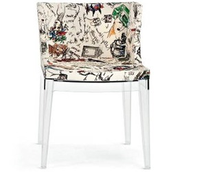 Moschino Mademoiselle Chair by Philippe Starck for Kartell
