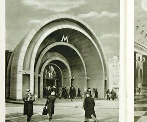 moscow metro interiors