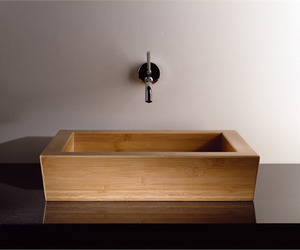Moso Vessel Sink from Stone Forest