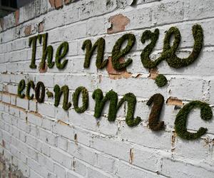 Moss Graffiti Art by Anna Garforth