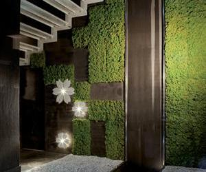 Moss Tile Brings Nature Indoors