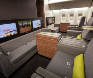 Luxurious Air Craft Cabin Design | Priestmangoode