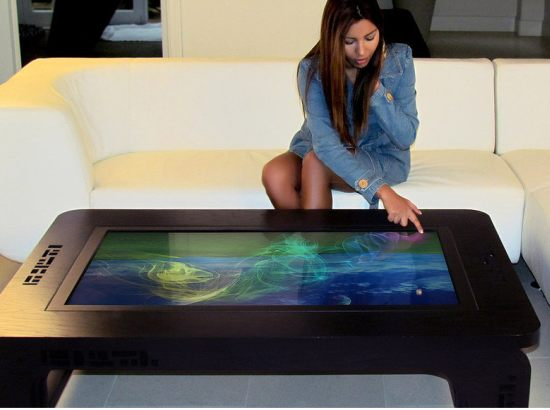 Most luxurious high tech coffee tables - Table basse high tech ...