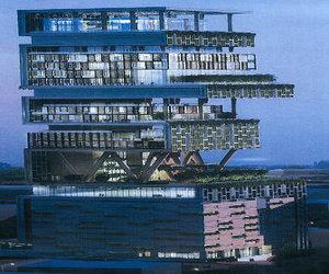 Mukesh Ambani's world's first billion dollar home in Mumbai